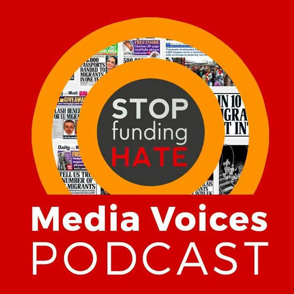 Media Voices: Newspaper analyst Liz Gerard and Stop Funding Hate founder Richard Wilson