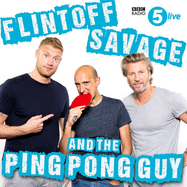 Flintoff, Savage and the Ping Pong Guy image
