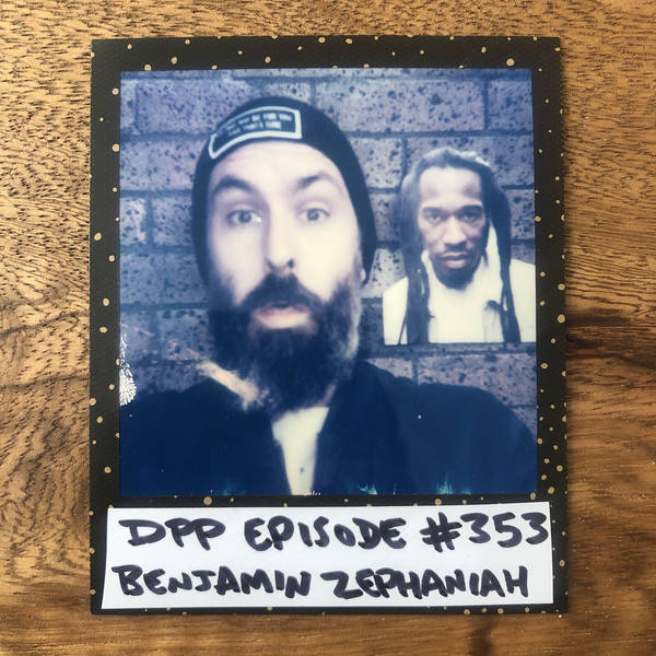 Benjamin Zephaniah • Distraction Pieces Podcast with Scroobius Pip #353