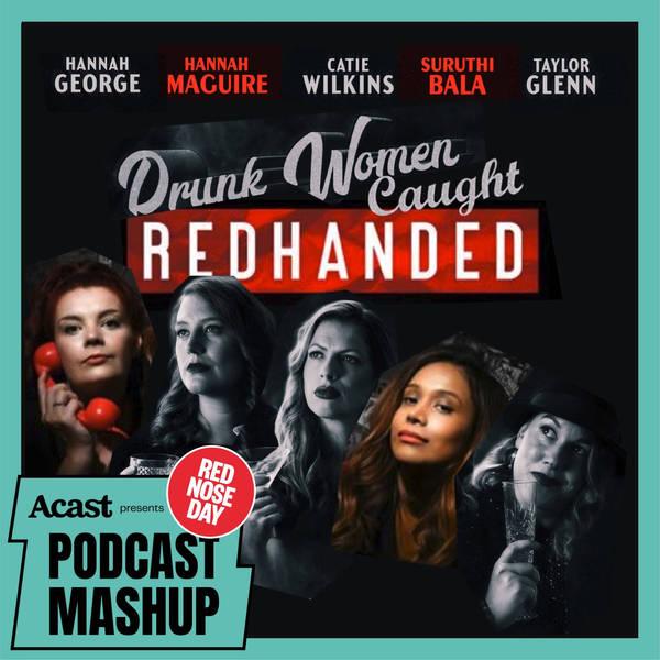 Drunk Women Caught RedHanded