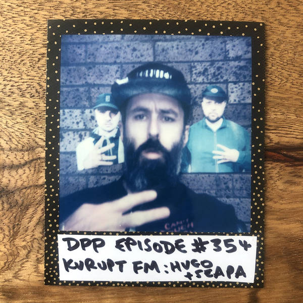 Kurupt FM (Hugo & Seapa) • Distraction Pieces Podcast with Scroobius Pip #354