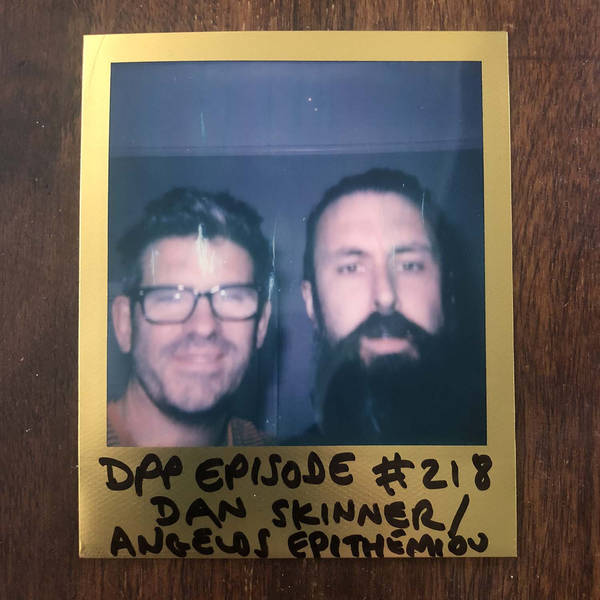 Dan Skinner / Angelos Epithemiou - Distraction Pieces Podcast with Scroobius Pip #218