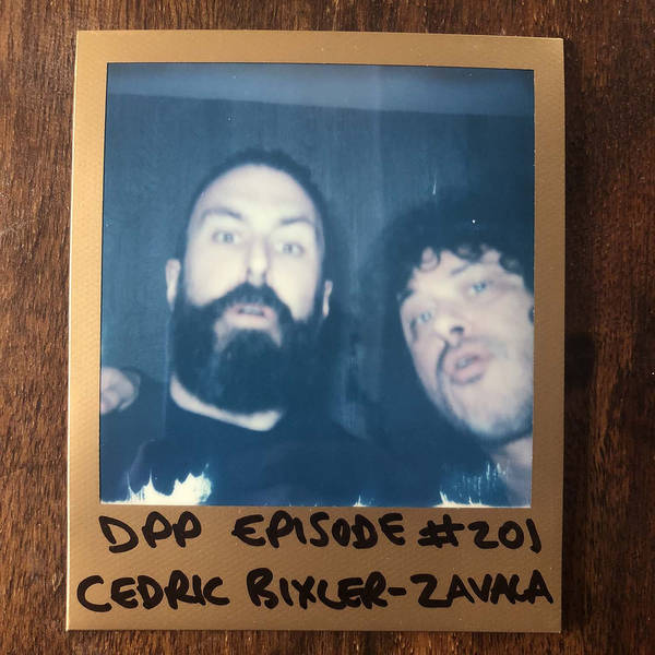 Cedric Bixler-Zavala - Distraction Pieces Podcast with Scroobius Pip #201