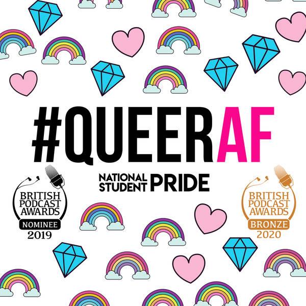 #QueerAF   queer inspiring LGBT + stories image