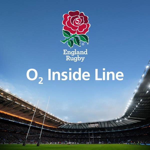 England Rugby Podcast: O2 Inside Line image