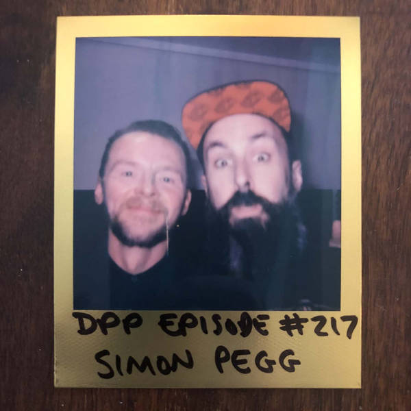 Simon Pegg - Distraction Pieces Podcast with Scroobius Pip #217