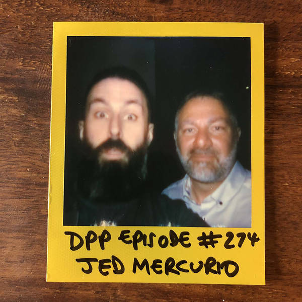 Jed Mercurio • Distraction Pieces Podcast with Scroobius Pip #274