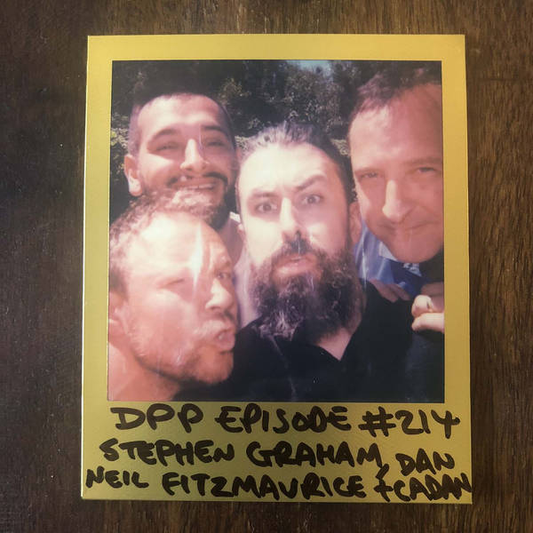 Stephen Graham, Neil Fitzmaurice & Dan Cadan - Distraction Pieces Podcast with Scroobius Pip #214