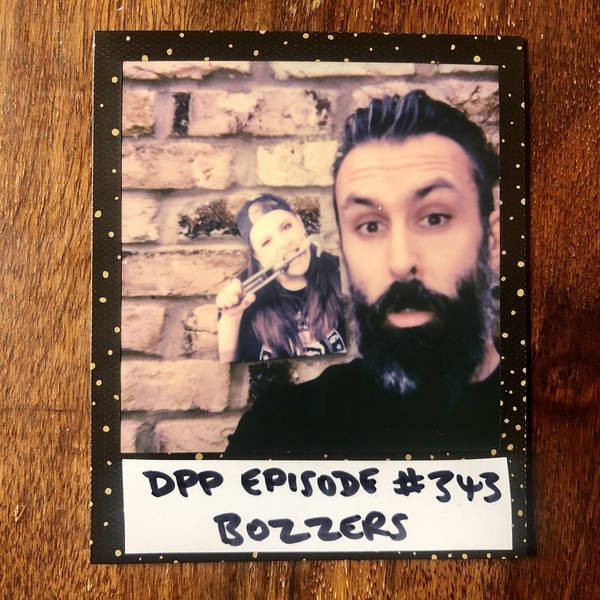 Bozzers •Distraction Pieces Podcast with Scroobius Pip #343