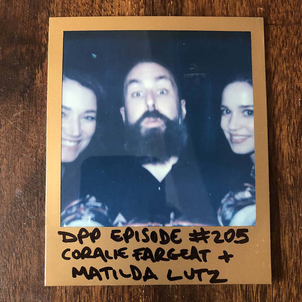 Coralie Fargeat & Matilda Lutz - Distraction Pieces Podcast with Scroobius Pip #205