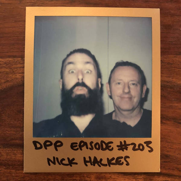 Nick Halkes - Distraction Pieces Podcast with Scroobius Pip #203