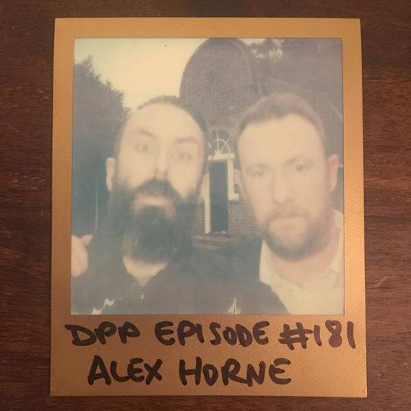 Alex Horne - Distraction Pieces Podcast with Scroobius Pip #181