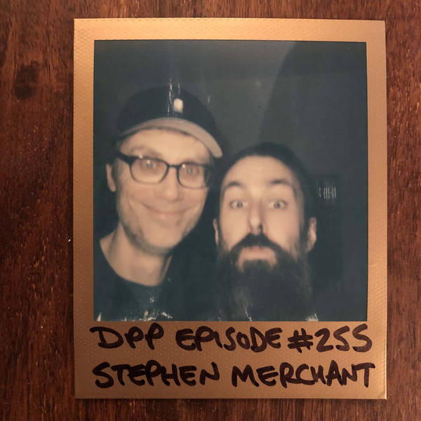 Stephen Merchant - Distraction Pieces Podcast with Scroobius Pip #255
