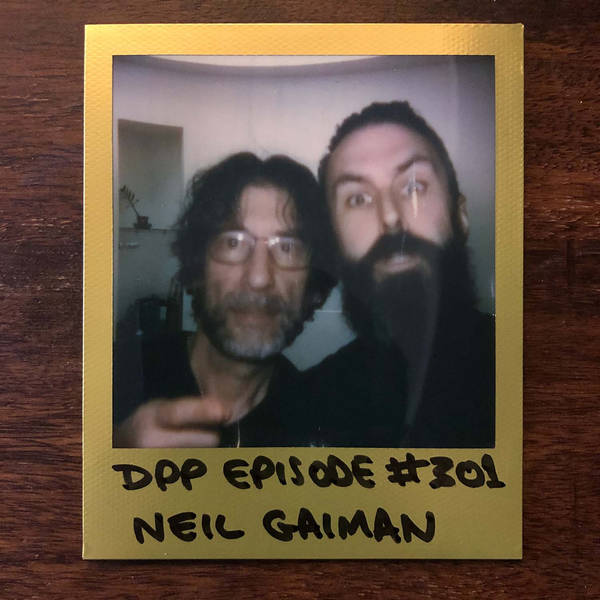 Neil Gaiman • Distraction Pieces Podcast with Scroobius Pip #301