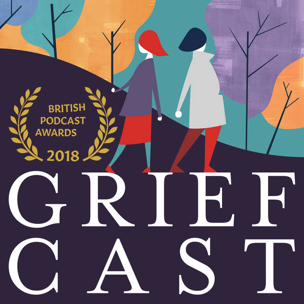 Ep.86 Griefcast Live with Greg Davies + Barry Castagnola in support of LOROS Hospice