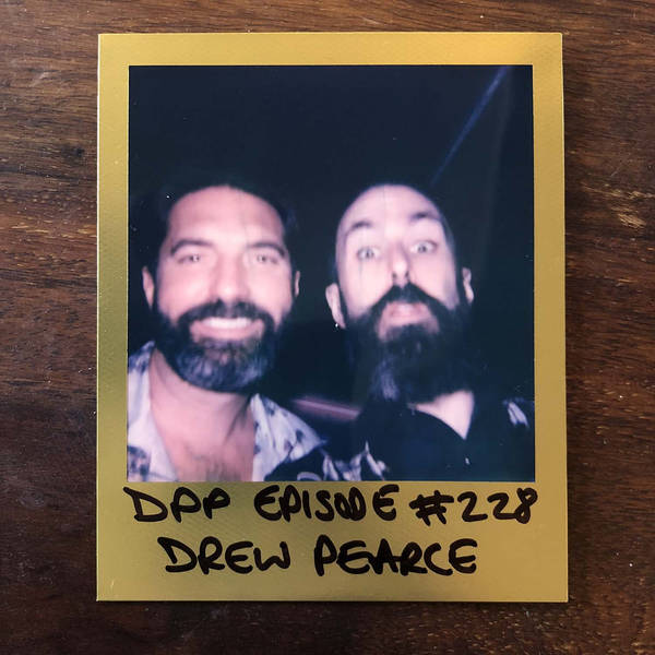 Drew Pearce - Distraction Pieces Podcast with Scroobius Pip #228