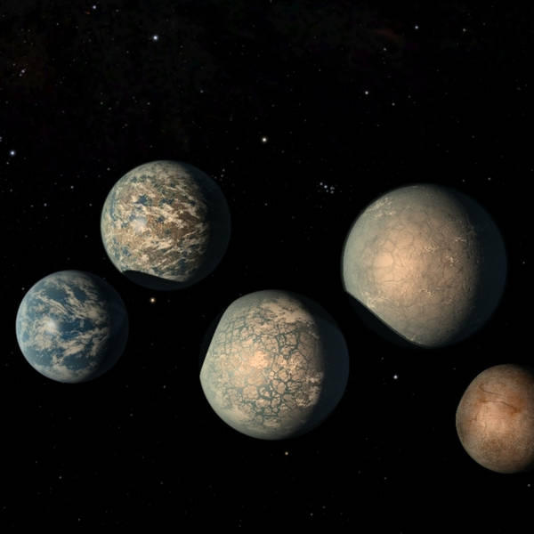 Visiting the Earth-Like Worlds of TRAPPIST-1