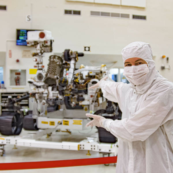 In the Clean Room With the Mars 2020 Rover