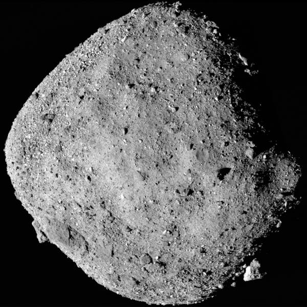 Asteroid Bennu's Visitor From Earth
