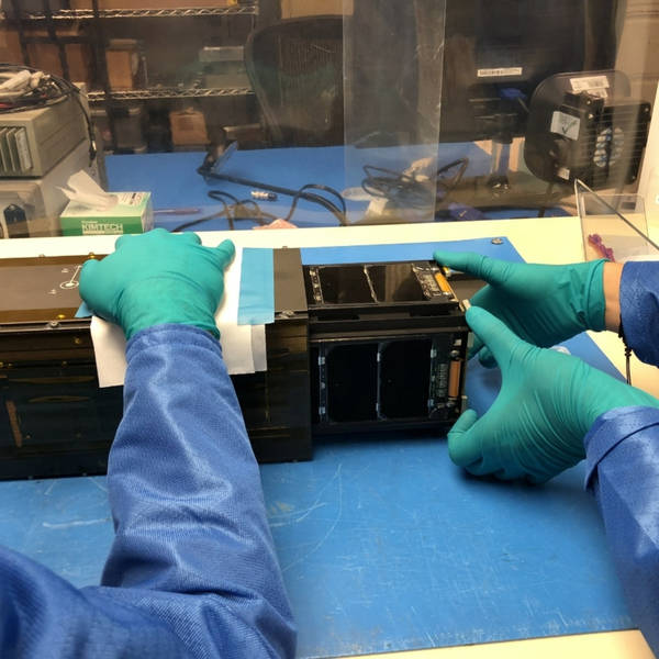 A Last Visit With LightSail 2 at the Cubesat Developers Workshop
