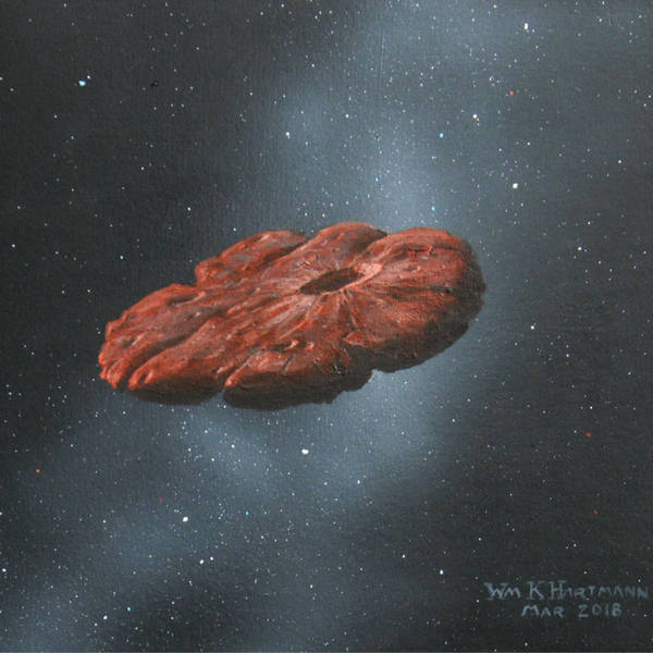 Is 'Oumuamua a Piece of a Pluto-Like Planet? And Ingenuity's First Flight on Mars