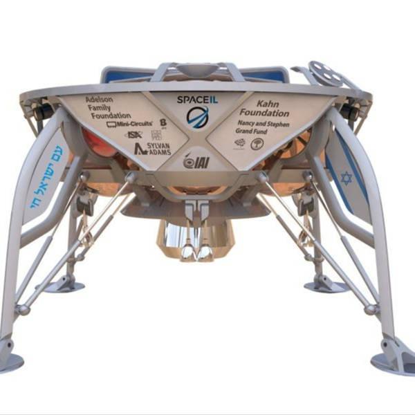 An Israeli Lander Launches Toward the Moon