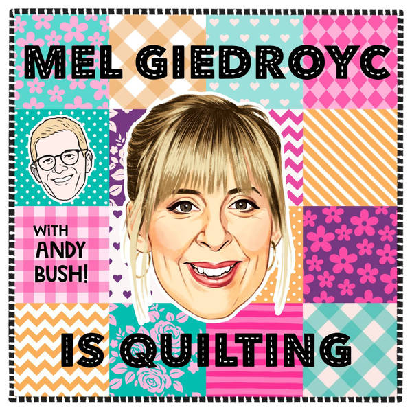 Mel Giedroyc is Quilting image