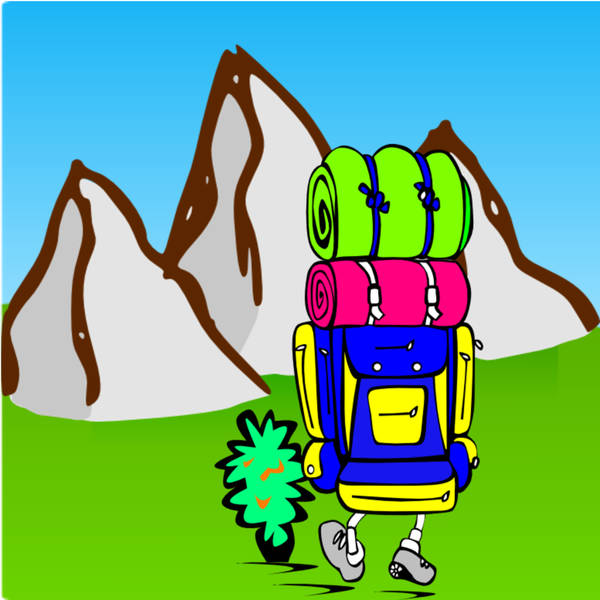What if mountains could turn into backpacks?