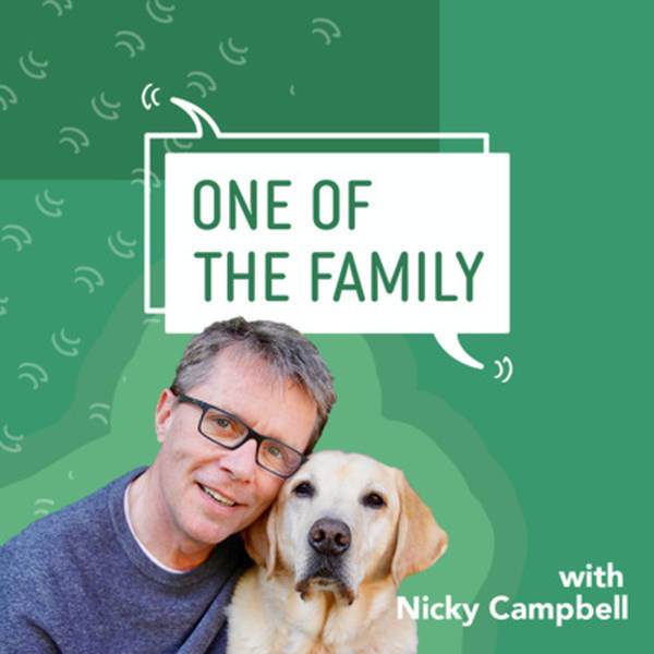 'A House is not a Home without a Dog' with Robbie Savage and Jenny Seagrove   A One Of The Family Podcast by Nicky Campbell