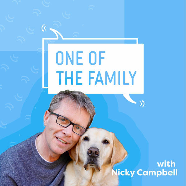 The Word of Dog with guests Victoria Stilwell, Susie Dent and Mark Moraghan | One Of The Family Podcast by Nicky Campbell