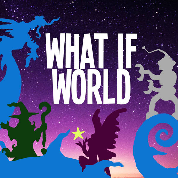 What if colors made a civilization and a space monster ate a spaceship?