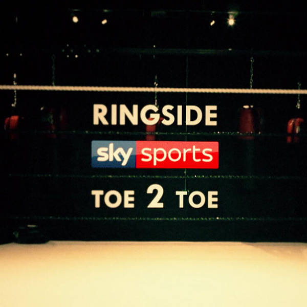 Ringside Toe2Toe Boxing Podcast image