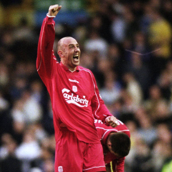 Houllier's Treble Winners #9: Gary Mac enters Reds folklore with Goodison winner as Barcelona & Wycombe seen off to reach finals