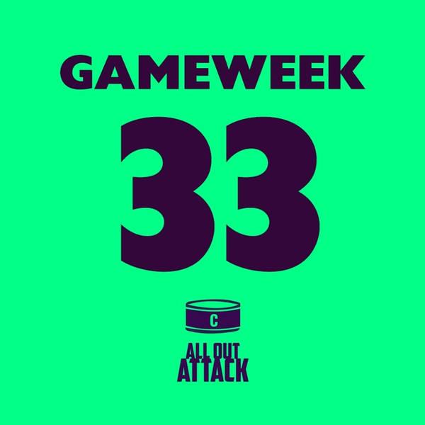 Gameweek 33: Aguero's Injury, Incoming BGW33 & Football Blogging Awards