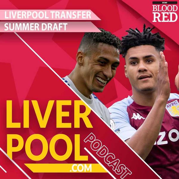 Liverpool.com podcast: Summer Premier League transfer draft   Raphinha, Pedro Neto, Bissouma