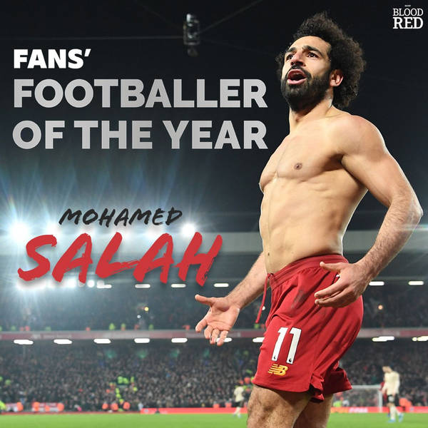 Blood Red: Mohamed Salah crowned the inaugural Fans' Footballer of the Year