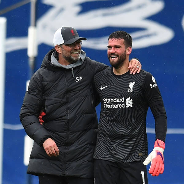 Blood Red: HEAD OF GOD   Alisson Becker keeps Liverpool on course for Champions League