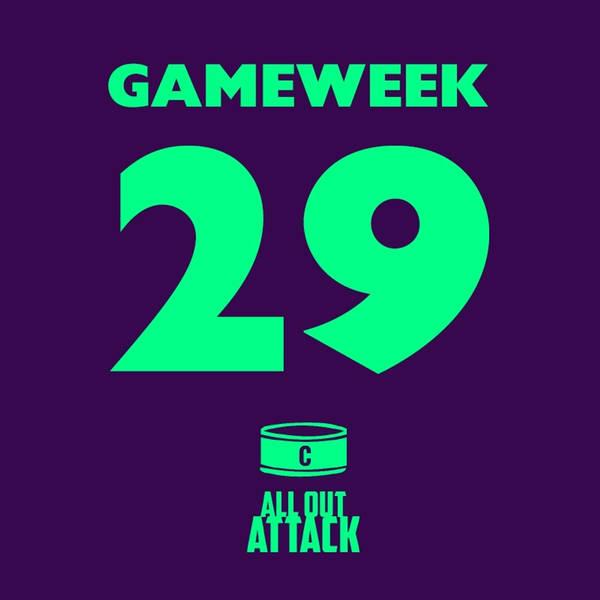 Gameweek 29: Liverpool's Run Is Over, Man City & Arsenal's DGW!