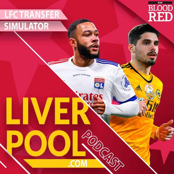 Liverpool.com podcast: LFC transfer simulator | David Alaba, Memphis Depay, Pedro Neto