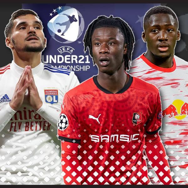 Ibrahima Konate and next gems Liverpool can scout at U21 Euros   Aouar, Camavinga, Scamacca
