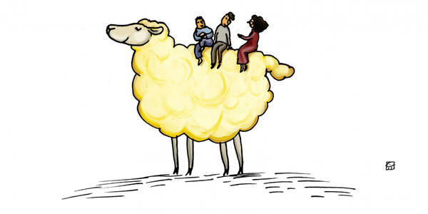 'The Lamb With The Golden Fleece'   feat. Kathleen Chalfant