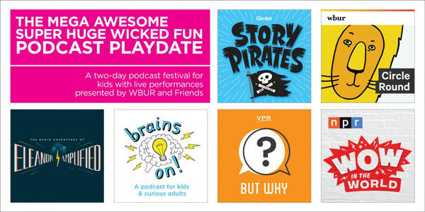 The Mega Awesome Super Huge Wicked Fun Podcast Playdate