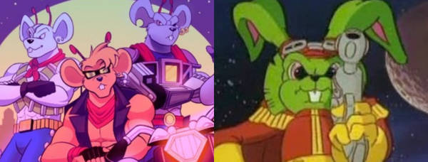 Episode 14: Bucky O'Hare and Biker Mice from Mars
