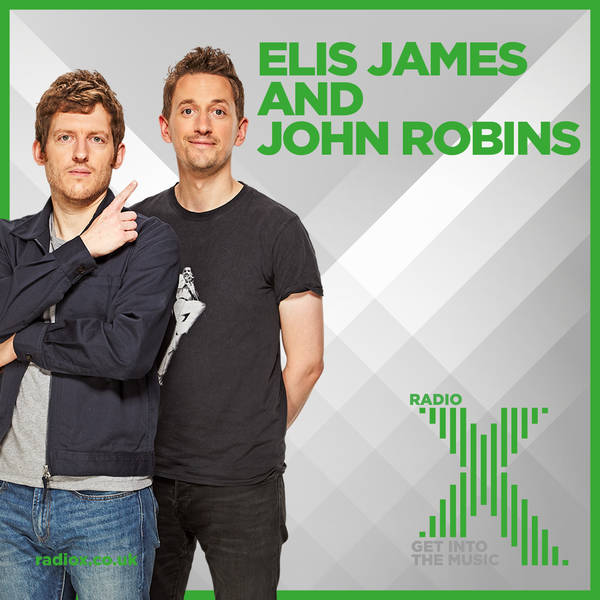 Elis James and John Robins on Radio X Podcast