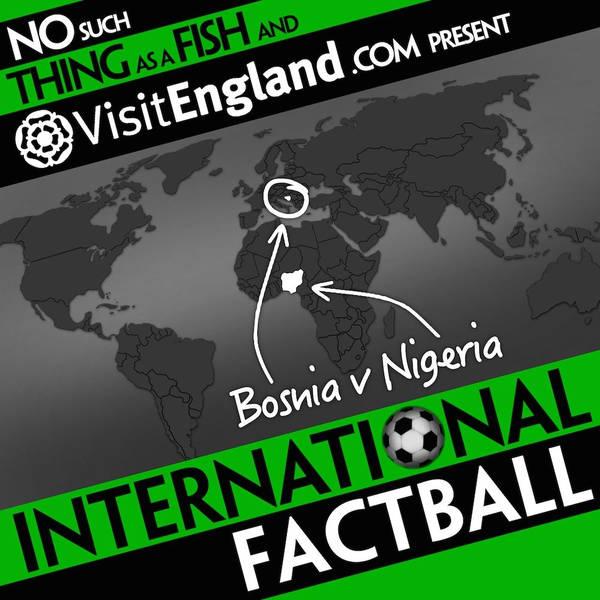 NSTAAF International Factball: Bosnia v Nigeria