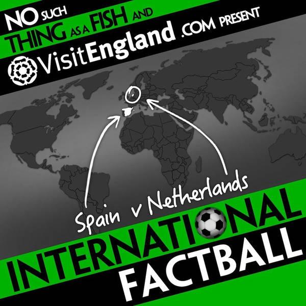 NSTAAF International Factball: Spain v Netherlands