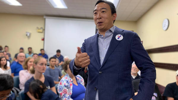 On The Trail With Andrew Yang