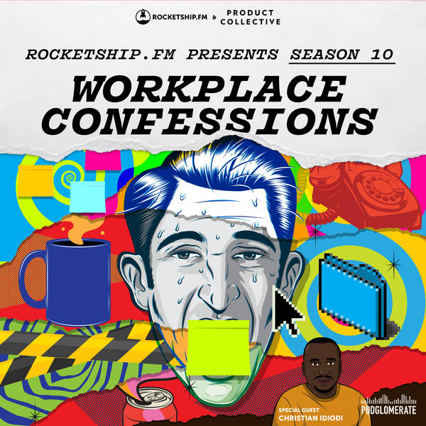 """Workplace Confessions with Christian Idiodi: """"Running with an idea"""" & """"I Don't talk to Customers"""""""