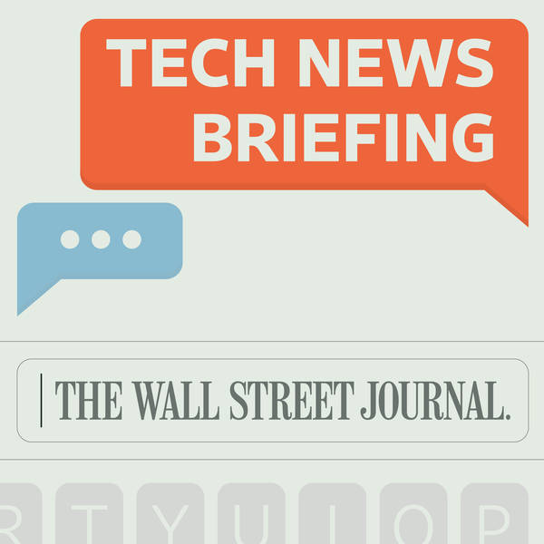 WSJ Tech News Briefing image