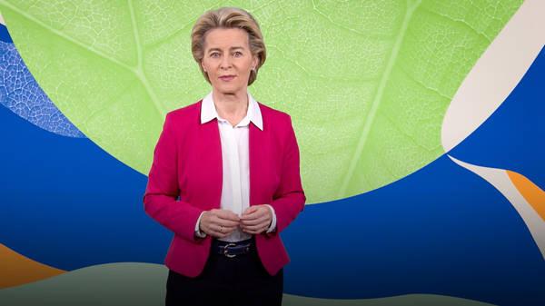 Europe's plan to become the first carbon-neutral continent   Ursula von der Leyen